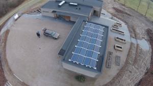7,2 KW solceller øst vest