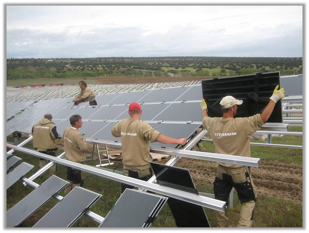 Montage af solceller