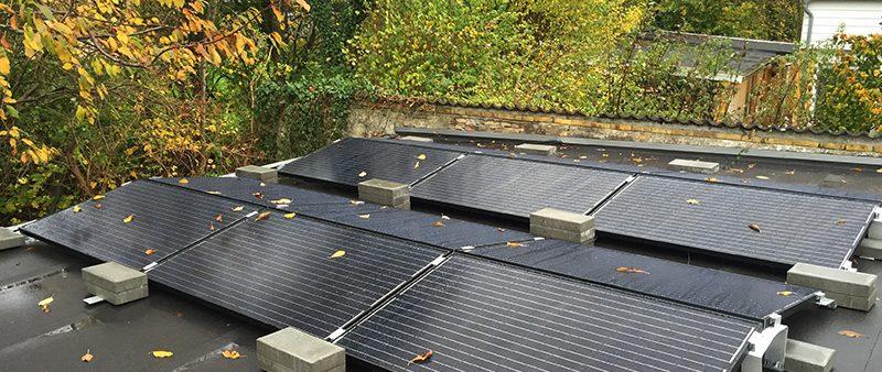 3 kW solcelleanlæg