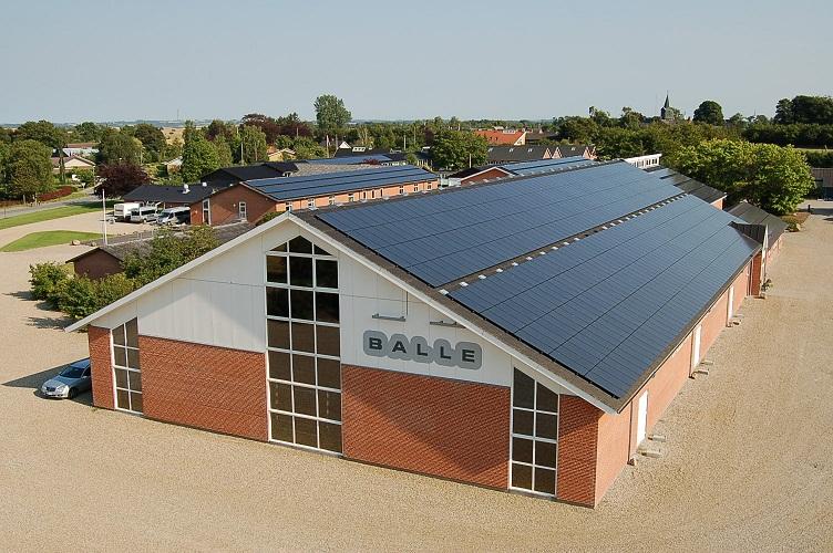 Balle Efterskole - Solcelleanlæg