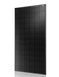 sort monokrystallin solcellepanel