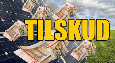 Ny pulje med tilskud til solceller
