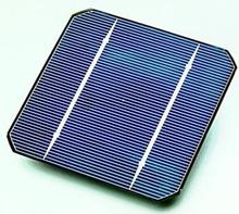 Monokrystallinsk solcelle