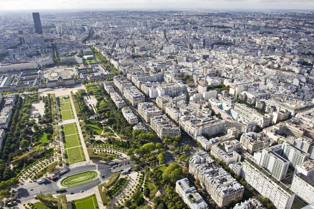 Frankrig solceller og planter
