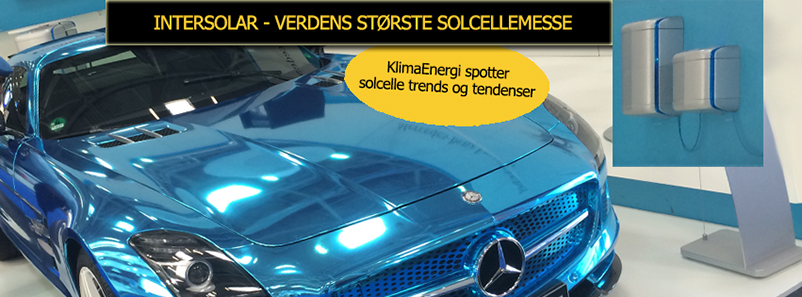 top Intersolar solcelle trends