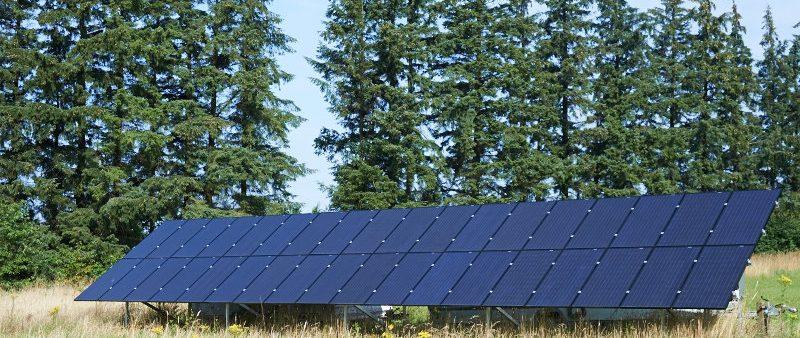 jordbaserede solcelleanlæg