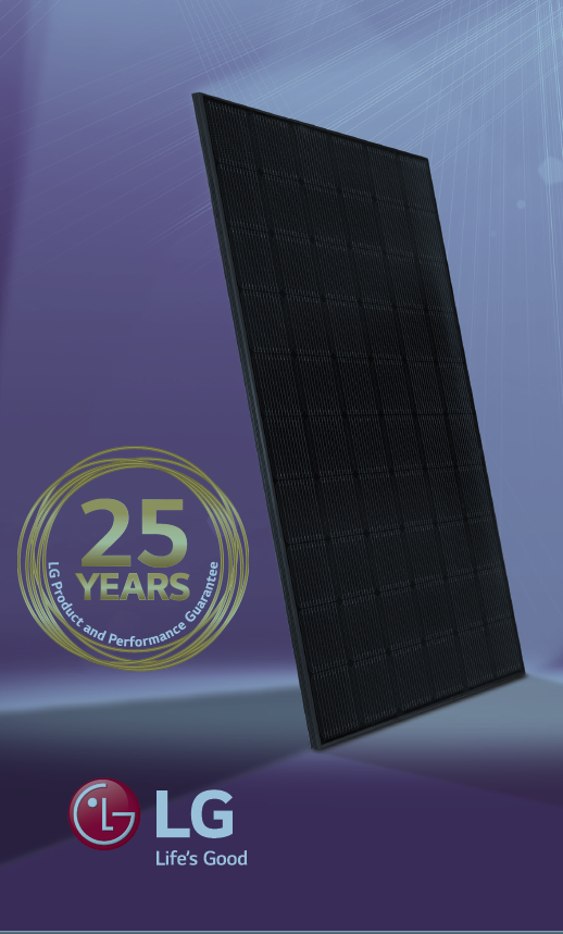 LG Solcellepanel