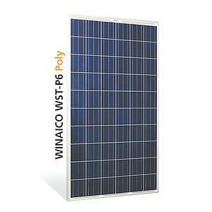 Polykrystallinsk solcellepanel