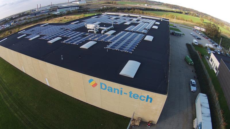Dani-tech i Haderslev - erhverv solceller