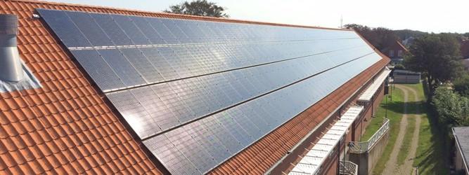 Solceller Til Erhverv Og Institutioner Klimaenergi