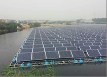 8 mW flydende solcelleanlæg