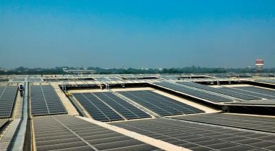solceller i Indien 12 MW på tag