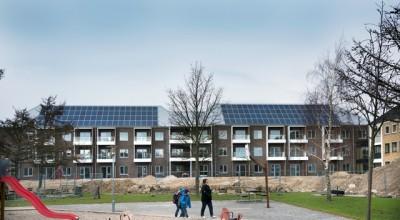 solcelleanlæg på boligblok