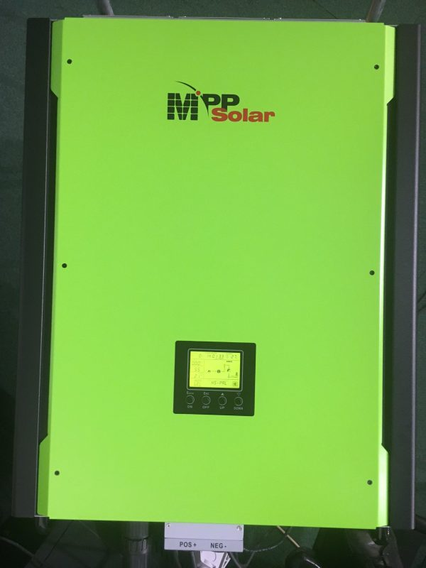 Batteri solcelle inverter