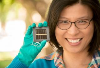 Porovskite solceller