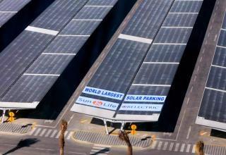 Solcelleanlæg i Saudi Arabien