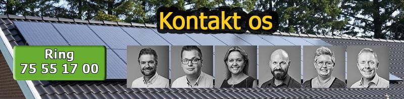 Kontakt KlimaEnergi om din næste solcelle inverter