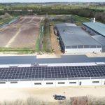144 KWP Solcelleanlæg til Frea A/S