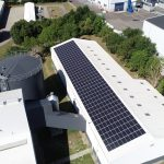 120 KWP Solcelleanlæg . Midtlangelands Fjernvarme